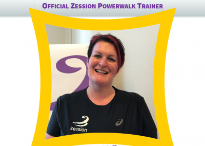 Zession Powerwalk Trainer Christi