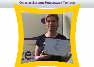 Zession Powerwalk Trainer Esther
