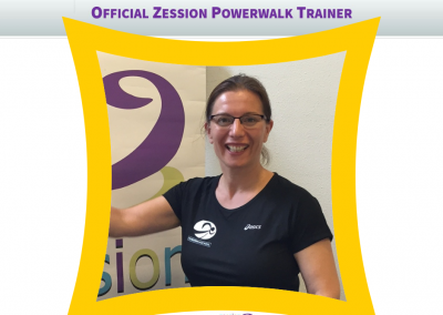 Zession Powerwalk Trainer Esther Meulman