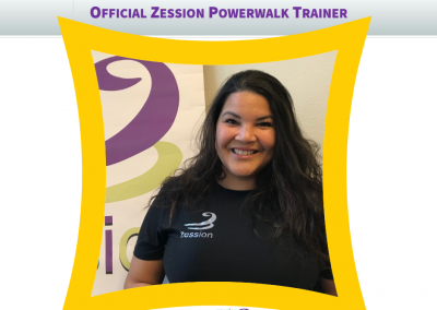 Zession Powerwalk Trainer Jeanine