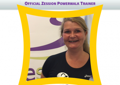 Zession Powerwalk Trainer Johanna