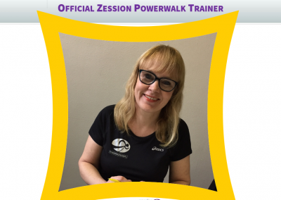 Zession Powerwalk Trainer Karin