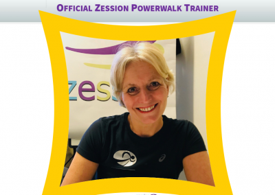 Zession Powerwalk Trainer Maaike