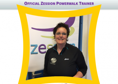 Zession Powerwalk Trainer Margreth