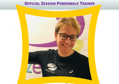 Zession Powerwalk Trainer Monique Hesselink