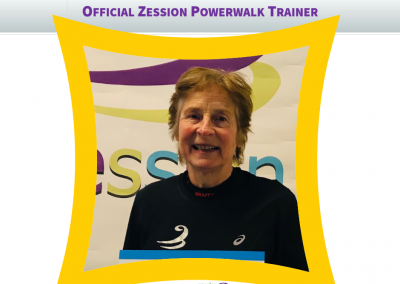 Zession Powerwalk Trainer Yvonne